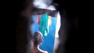 Bathroom in iNdian lady