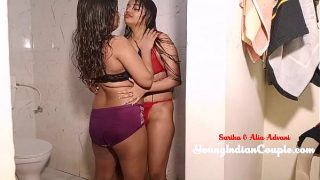 Best Ever Indian Lesbian Girls Sex In Bathroom In Clear Hindi Audio
