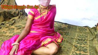 Rule play sex with Telugu wife in pink sari